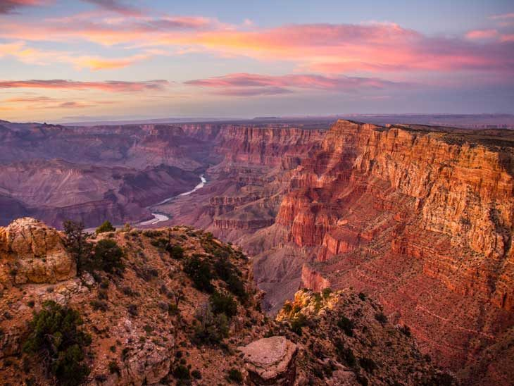 Grand Canyon Sunsets are one of 10 things to do and see in America.